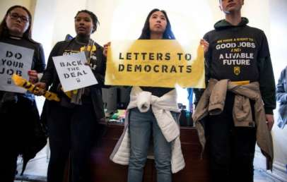 Democrats unveiled a big climate policy plan with influences of the Green New Deal.
